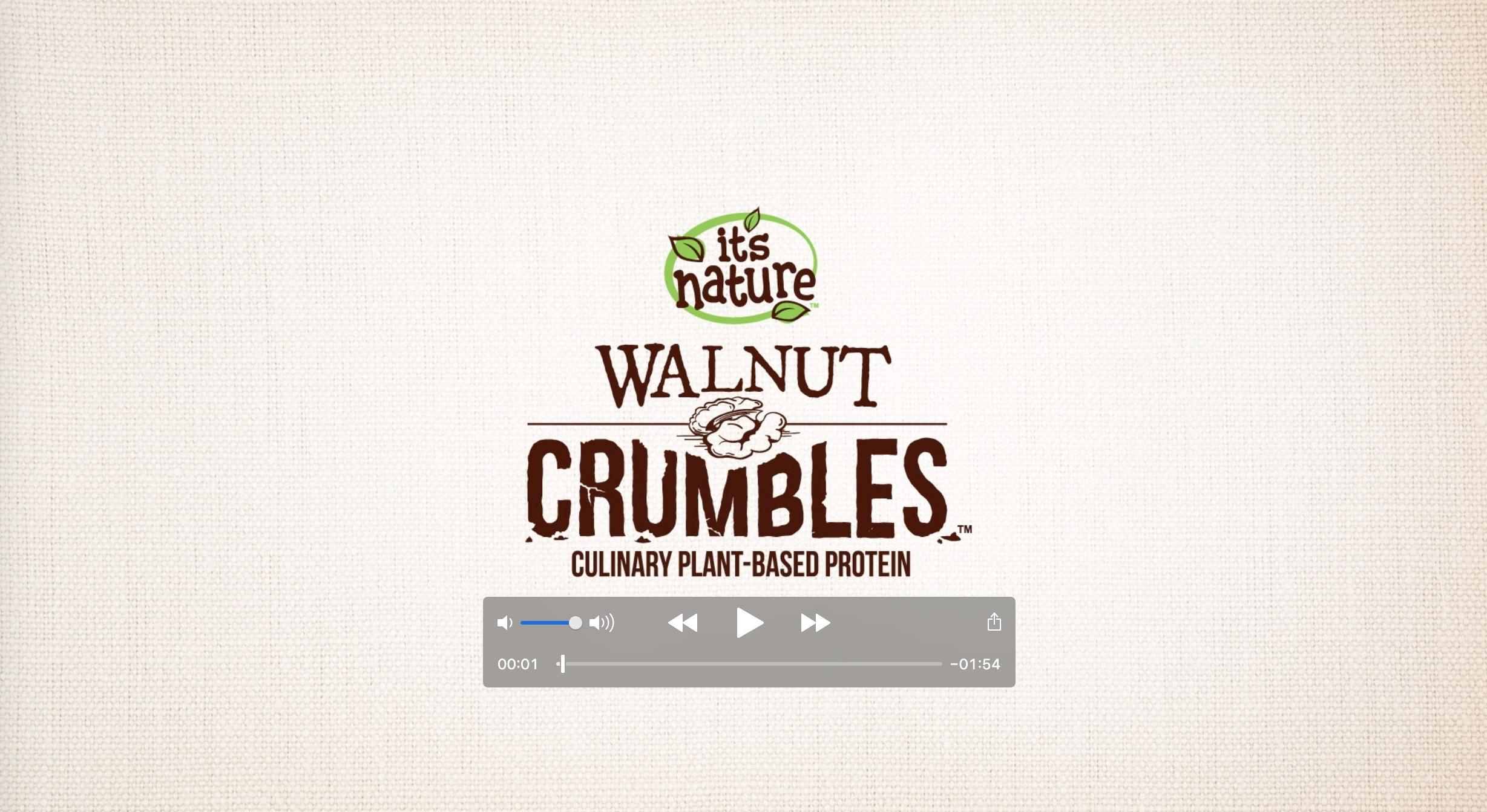 Walnut Crumbles